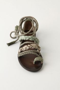 A cute take on strappy sandals | Anthropologie.com