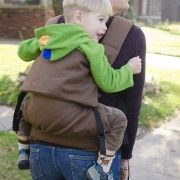 Action Baby Carrier toddler buckle