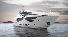 You can't look away from the Superb Sunseeker 116 Yacht