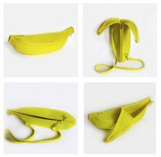Сумка-банан из фетра
