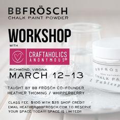 BBFrosch work shop!