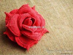 Butterfly Creaciones: Gran ganchillo Rose + Diagramas