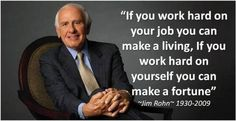 Work harder in yourself than you so on your job!