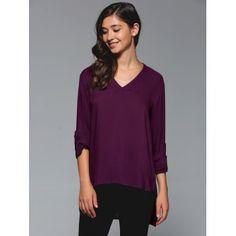 GET $50 NOW | Join Dresslily: Get YOUR $50 NOW!http://m.dresslily.com/asymmetrical-plain-blouse-product1611473.html?seid=83tr24M31A973db4S05lGSOKQ0