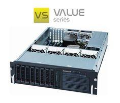Tutaj kolejny serwer obrazujący serwery przystosowane do szaf rack. Ta platforma serwerowa Value jest jednym z wymarzonych platform serwerowych w każdym Data Center. Można smiało się cieszyć takimi Hi Tech rozwiązaniami