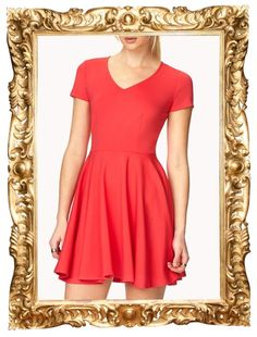 Iconic Fit & Flare Dress - $19.80