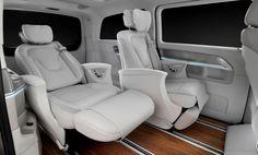 Mercedes Concept V-ision e, la Clase V híbrida enchufable con 333 caballos