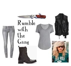 """""""Rumble with the Gang"""" by theoutsidersoutfits ❤ liked on Polyvore featuring Diesel, Zadig & Voltaire, ONLY, darry curtis, johnny cade, dallas winston, ponyboy curtis, the outsiders, sodapop curtis and twobit matthews"""