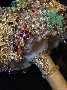 Wedding Brooch Bouquet.