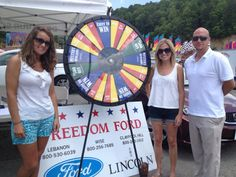 Come see us at the fair and spin the prize wheel!!!! Buy this Prize Wheel at http://PrizeWheel.com/products/floor-prize-wheels/floor-and-table-prize-wheel-12-24-slot-adaptable/.