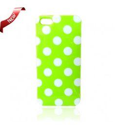 iPhone 5 Cases : Poker Dot Green Gel