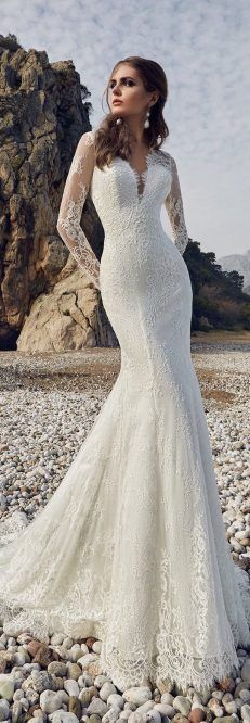 Wedding Dress by Lanesta Bridal - The Heart of The Ocean Collection #WeddingDress #BridalGown