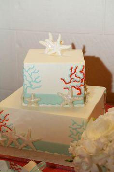 Coral and Blue Wedding at Casa Marina Resort, Key West - My Hotel Wedding
