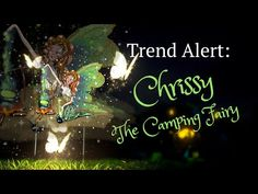 Teelie's Fairy Garden | Chrissy The Camping Fairy | Teelie Turner www.teeliesfairygarden.com Say hello to Chrissy. Bond with her beside the bonfire and sing your heart's out to camping songs. #campingfairy