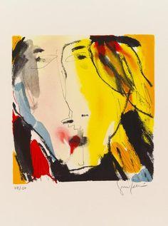 Gina Pellon - Lithography