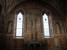 Giotto e Maestro della Santa Cecilia - affreschi giotteschi - 1290-1325 - Firenze - Cappella Rucellai in Santa Maria Novella