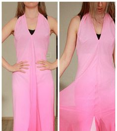 wedding dress pink  from 90 S M small medium 38 dress romantic