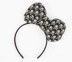 Hello Kitty x Chubby Bunny Skulls Headband. Mad cute, mad expensive. $30 for a headband?!