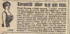Garantált siker: mellnövelő kebelcrém, Pesti Hírlap, 1914.11.15.