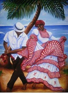 Artwork of Puerto Rico African American Art, African Art, Puerto Rico Pictures, Puerto Rico History, Puerto Rican Culture, Cuban Art, Black Art Pictures, Caribbean Art, Black Women Art