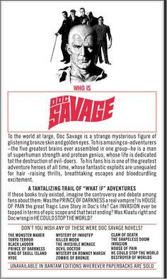 DOC SAVAGE!