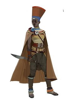 """we-are-rogue: """" From Pirate Cultural Exploration by Brian Matyas """"Designs for a northern African inspired pirate culture for a cancelled game project. Fantasy Character Design, Character Creation, Character Concept, Character Inspiration, Character Art, Concept Art, Black Characters, Dnd Characters, Fantasy Characters"""