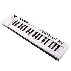 Kadence Midiplus 37 Key MIDI Keyboard Controller This is rated as one of the highest selling products online in Musical Instruments category in India. Click below to see its Availability and Price in YOUR country.