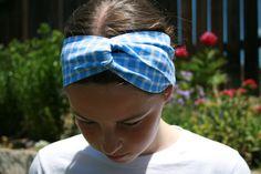 Headband turban workout headband turban twist head by MamaKikis