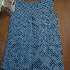 Visit the site for details. Crochet Motif, Diy Crochet, Crochet Hats, Knitting Projects, Vest, Model, Sweaters, Tops, Dresses