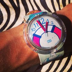 #pop #Swatch #watch