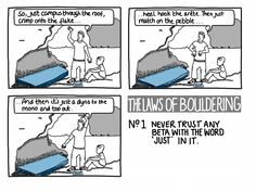 The Laws of Bouldering #1