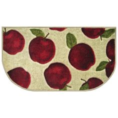 apple decorations for kitchen | Apple Decor Kitchen Sink Mats from ...