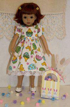"~*~Almost Easter~*~Chicks & Eggs~fits 13"" Effner Little Darling~*~"