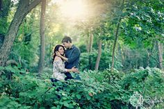 The most gorgeous light during an engagement shoot    *by Kay English Photography NJ