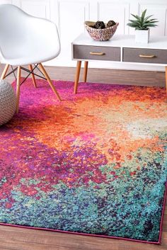 Bring contemporary design into your home, with the nuLOOM donya abstract rug. This rug features a abstract pattern and is made of polypropylene. At nuLOOM we believe that floor coverings and art should not be mutually exclusive. Coastal Rugs, Coastal Living Rooms, Online Home Decor Stores, Home Decor Items, Online Shopping, Nylon Carpet, Pink Abstract, Abstract Pattern, Rugs Usa