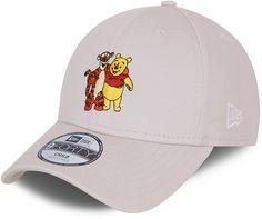 Winnie The Pooh New Era 940 Kids Disney Character Stone Baseball Cap (4 - 12 Years) - Child  ( 4 - 6 years) / Stone