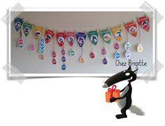 Affichage anniversaires Loup Birthday Wall Decoration, Decoration Creche, Preschool Printables, Kat Von D, Teaching Kids, Halloween, Ps, Montessori, Sentiments