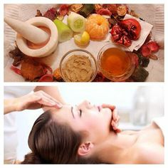 """Transform your skin with Fruit, Veggies, and Herbs. To schedule your facial call (702) 816-5996 Mention """"Thursday Facebook ad"""" and get a gift! www.aminahsorganicskinspa.com"""