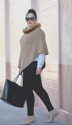 Plus size fashion - girl with curves - cold snap moda plus size, curvy fashion Plus Size Winter Outfits, Winter Fashion Outfits, Plus Size Outfits, Fall Outfits, Outfit Winter, Curvy Outfits, Trendy Outfits, Curvy Fashion, Plus Size Fashion