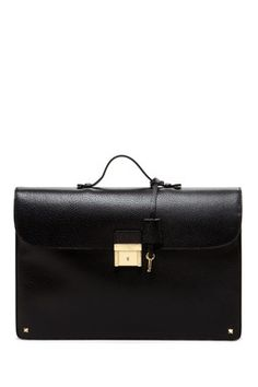 Valentino Structured Brief Case