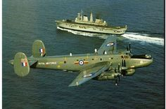 Avro Shackleton WR963 on patrol with HMS Illustrious ~ BFD