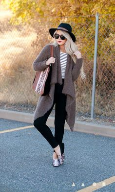 loafers and sweaters - more → http://fashiononlinepictures.blogspot.com/2013/10/loafers-and-sweaters.html