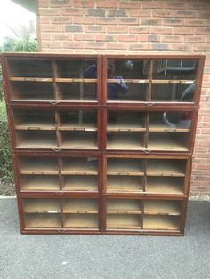 Vintage Antique Haberdashery Shop Counter Display Unit