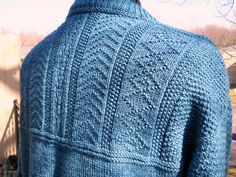 Ravelry: Gansey Style Sweater pattern by Alice Starmore