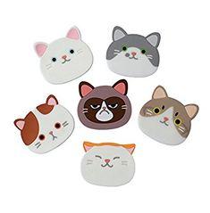Posavasos diseño gatos