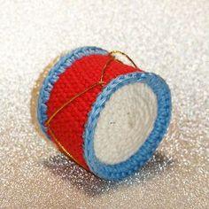 PennyMo: 4. december - Hæklet juletromme