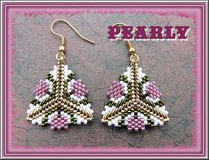 bo triangle tulipes | pearly beads | Flickr