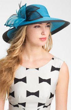 . . .for the Derby. . .August Hat Wide Brim Hat | Nordstrom