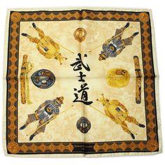 Rubinacci Samurai Silk Pocket Square