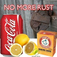 5 Ways To Naturally Remove Rust  Going to try these for my chair!!
